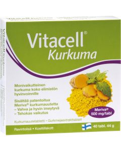 Vitacell Kurkuma (40 tabl)