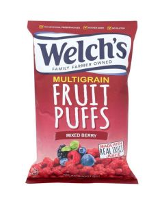 Welch's Fruit Puffs Mixed Berry 170g