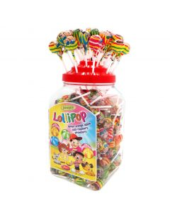 Woogie Lollipop tikkarilajitelma 180kpl