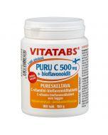 Vitatabs Puru C 500 mg + bioflavonoidit