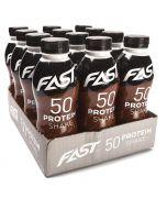 Fast Protein Shake 50 suklaa proteiinijuoma 500ml x 12kpl