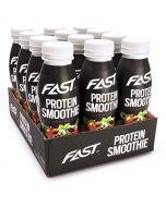 Fast Protein Smoothie Mansikka 330ml x 12kpl