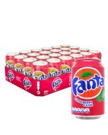 Fanta Strawberry & Kiwi virvoitusjuoma 330ml x 24kpl