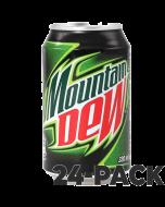 Mountain Dew virvoitusjuoma 330ml x 24kpl