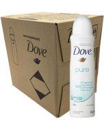 Dove Pure deodoranttispray 150ml x 12-pack