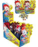 Sweet Flash Popping Crunch Candy paukkumakeiset 24g x 24kpl