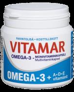 Vitamar Omega-3 + ADE-vitamiinit 100 kaps