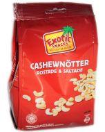 Exotic Snacks Cashewpähkinät paahdettu & suolattu 400g