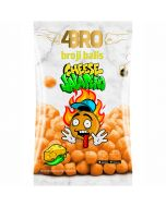 4Bro Broji Balls Cheese Jalapeno maissisnacks 75g