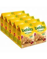 Belvita Soft Bakes Red Berries välipalakeksi 250g x 10kpl