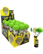 Brain Blasterz Sour Pop Lollipop 12kpl