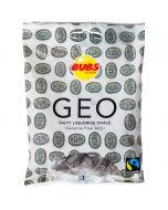Bubs Geo Salty Liquorice Ovals salmiakki 90g