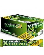 CHEWITS Xtreme sour apple 30g x 24