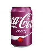 Coca-Cola Cherry virvoitusjuoma 330ml x 24kpl
