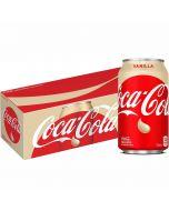 Coca-Cola Vanilla USA virvoitusjuoma 355ml x 12-pack
