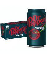 Dr Pepper Cherry USA virvoitusjuoma 355ml x 12-pack