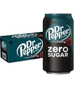 Dr Pepper Cherry Zero Sugar USA virvoitusjuoma 355ml x 12-pack