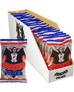 Dracula Piller salmiakkikaramelli 65g x 20pss