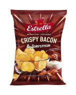 Estrella Crispy Bacon & Sourcream perunalastu 175g