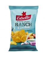 Estrella Ranch & Sourcream perunalastu 175g