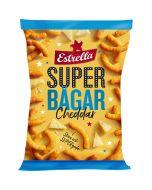 Estrella Superbågar Cheddar juustosnacks 175g