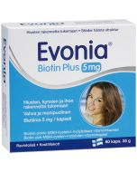 Evonia Biotin Plus 5mg