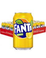 Fanta Lemon virvoitusjuoma 330ml x 24kpl