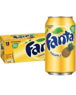 Fanta Pineapple USA virvoitusjuoma 355ml x 12-pack