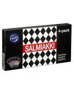 Fazer Salmiakki pastilleja Traveller Exclusive 4-pack