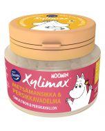 Fazer Xylimax Moomin täysksylitolipastilli Metsämansikka & Persikkavadelma 90g