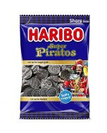 Haribo Super Piratos salmiakki 340g