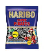 Haribo Super Piratos salmiakki 340g