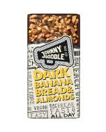 Johnny Doodle Dark Banana Bread & Almonds suklaalevy 150g