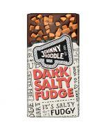 Johnny Doodle Dark Salty Fudge suklaalevy 150g