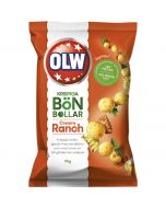 OLW Bönbållar Creamy Ranch härkäpapusnacksit 90g