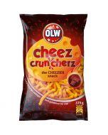 OLW Cheez Cruncherz Flaming Hot juustosnacks 225g