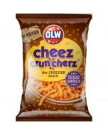 OLW Cheez Cruncherz Texas Ranch rapea juustosnacks 160g