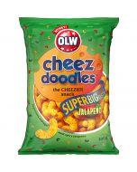 OLW Cheez Doodles Jalopeno juustosnacks 200g