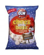 OLW Cheez Snowballs White Cheddar & Sourcream juustosnacks 160g