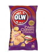 OLW Chili Cream Cheese perunalastu 175g