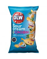 OLW Sour Cream & Onion perunalastut 175g