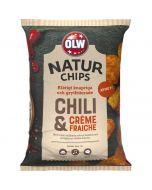 OLW Naturchips Chili & Creme Fraiche perunalastu 150g
