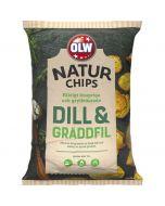 OLW Naturchips Tilli & Kermaviili perunalastu 150g