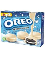 Oreo White Chocolate Covered keksit 246g