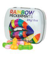 Rainbow Peckermints sateenkaari pippelipastilli 24g