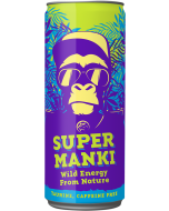 Super Manki 330ml x 24kpl energiajuoma (Kofeiiniton)