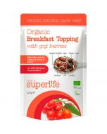 Superlife Organic with Goji Berries luomuaamiaissekoitus 200g