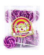 Swigle Pop Pink Lemonade tikkarit 12g x 50kpl