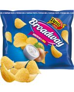 Taffel Broadway Sourcream & Onion perunalastu 150g