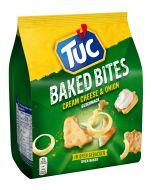 Tuc Baked Bites Cream Cheese & Onion suolakeksit 110g